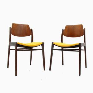 Stühle von H. Lohmeyer für Wilkhahn, 1960er, 2er Set
