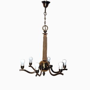 Vintage Austrian Chandelier by Hugo Gorge for Eduard Schmelz