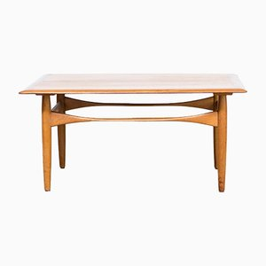 teak table by aksel bender madsen for bovenkamp 1960s