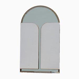 Miroir avec Portes Latérales Verrouillables de Iotti, Italie, 1970s