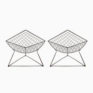Poltrone Oti di Niels Gammelgaard per Ikea, anni '80, set di 2