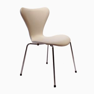 Model 3107 Seven Chairs by Arne Jacobsen and Fritz Hansen, 1980s, Set of 6