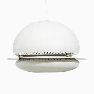 Lámpara colgante Nictea en blanco de Tobia & Afra Scarpa para Flos, años 60