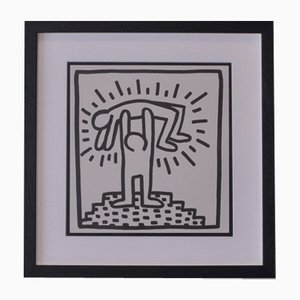 Stampa Pop Art in edizione limitata di Keith Haring, 1982