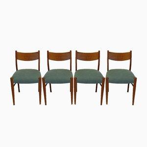 Chaises en Chêne, Italie, 1950s, Set de 4