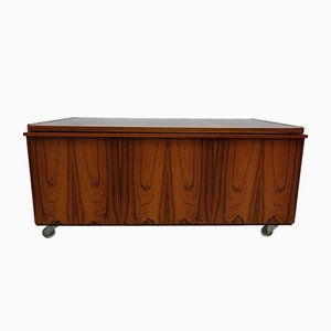 Mid-Century Danish Dresser on Casters, 1960s