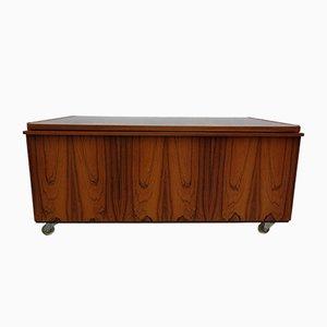 Mid-Century Danish Dresser on Casters, 1960s