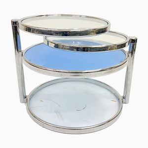 Chrome Plated Coffee Table, 1960s