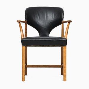 Schwedischer Armlehnstuhl von Josef Frank für Svenskt Tenn, 1960er