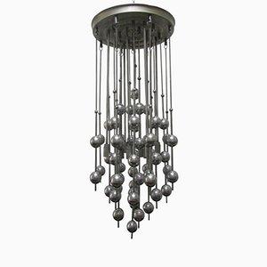 Lámpara de araña con esferas de Verner Panton para Lüber, años 70