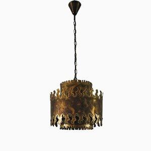 Lámpara colgante grande de Svend Aage Holm Sørense para Holm Sørensen & Co, años 60