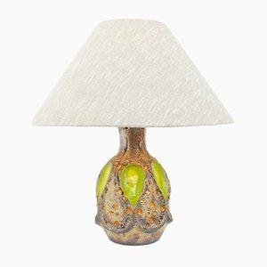 Italienische Keramik Tischlampe, 1960er