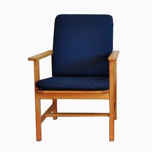 Mid-Century Modell 2257 Eichenholz Sessel von Børge Mogensen für Fredericia Stolefabrik