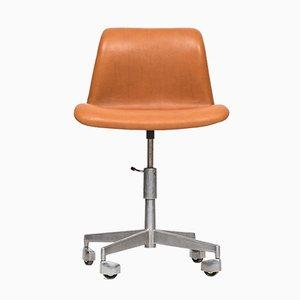 Chaise de Bureau Pivotante Ajustable Mid-Century, 1950s