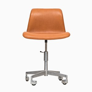 Mid-Century Adjustable Office Swivel Chair, 1950s