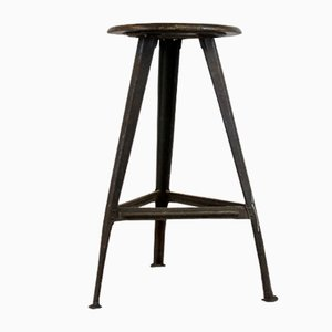 Vintage Work Stool by Robert Wagner for Rowac