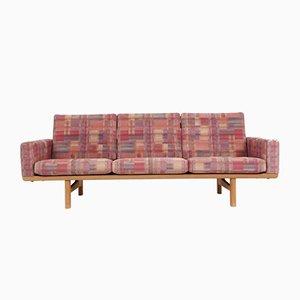 Modèle GE236 Oak 3-Seater Canapé par Hans J. Wegner pour Getama