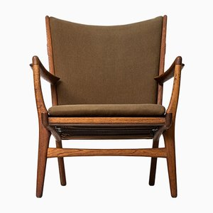 Model AP-16 Easy Chair by Hans J. Wegner for AP-Stolen, 1951