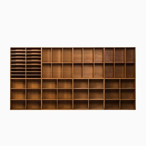 Bookcases by Mogens Koch for Rud Rasmussen, 1933, Set of 8