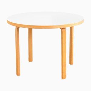 Mesa de comedor 90a de Alvar Aalto para Artek, 1935