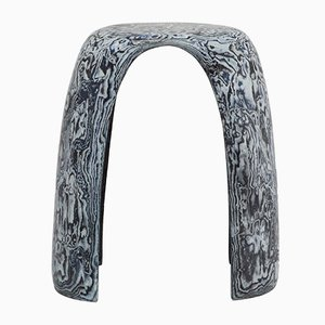 Bahia Denim Stool by Sophie Rowley