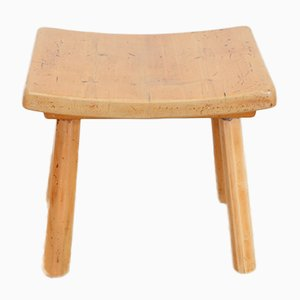 Vintage Solid Wood Stool