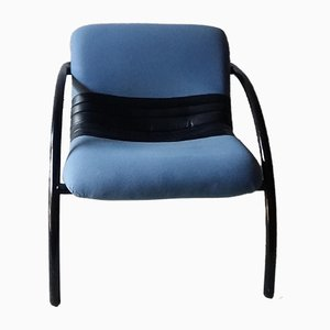 Vintage Blue Armchair from Airborne