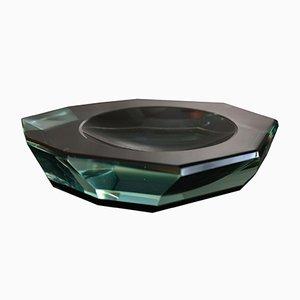 Glas Aschenbecher von Fontana Arte, 1950er
