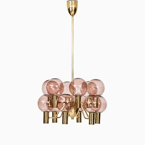 T372/12 Patricia Ceiling Lamp by Hans-Agne Jakobsson, 1960s