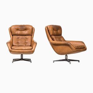 Modell von 7 Sessel von Alf Svensson für Dux, 1960er, 2er Set