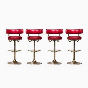 Bar Stools by Börje Johansson for Johansson Design, 1960s, Set of 4