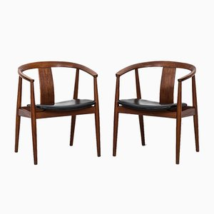 Armchairs by Tove & Edvard Kindt-Larsen for Sorø Stolefabrik, 1950s, Set of 2