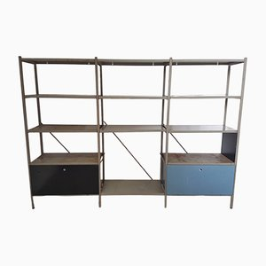663 Shelving Unit by Wim Rietveld for Gispen, 1950s