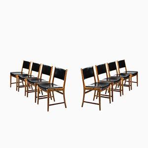 Esszimmerstühle von Kai Lyngfeldt Larsen für Søren Willadsen, 1960er, Set of 8