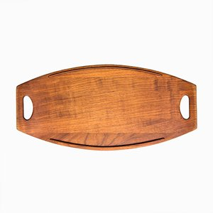 Teak Serving Tray by Jens Quistgaard for Dansk Design, 1950s