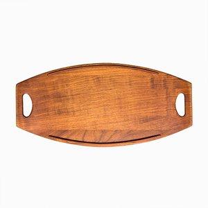 Teak Tablett von Jens Quistgaard für Dansk Design, 1950er