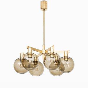 Lámpara de techo modelo T-348/6 de Hans-Agne Jakobsson para Hans-Agne Jakobsson AB, años 50