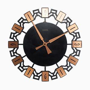 Vintage Wall Clock from Elektrik, 1960s