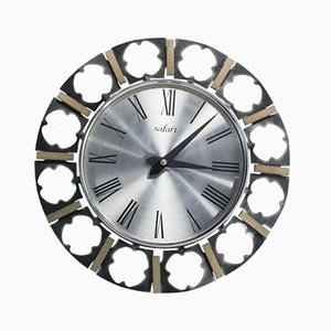 Vintage Wall Clock from Safari, 1960s