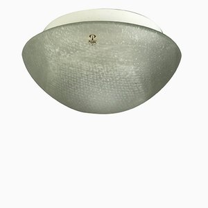 Plafoniere Glass Ceiling Lamp from Peill & Putzler, 1970s
