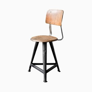 Vintage No. 4 Stool from Rowac