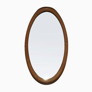 Specchio grande vintage in teak, Danimarca