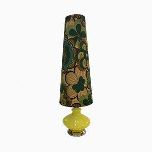 Vintage Murano Glas Stehlampe mit 2 Glühbirnen, 1970er