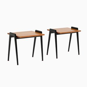 Mid-Century Side Tables by Alfred Hendrickx for Belform, Set of 2