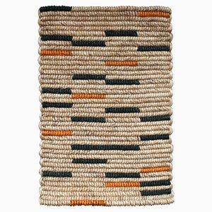 Abtreter Teppich mit bunten Streifen von Fili