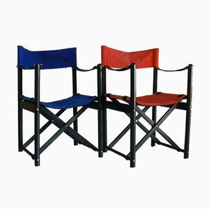 Folding Chairs by Mogens Koch for Hyllinge Möbler, Set of 2