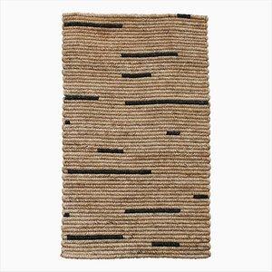 Tappeto con linee nere di Fili