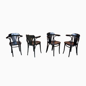 Dining Chairs from Radomska Fabryka Mebli Giętych, 1960s, Set of 4
