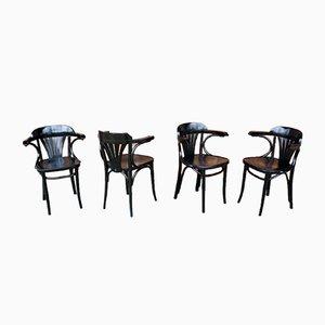 Esszimmerstühle von Radomska Fabryka Mebli Giętych, 1960er, 4er Set