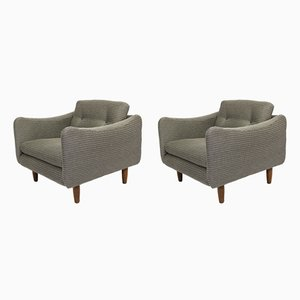 Teckel Lounge Chairs by Michel Mortier for Steiner, 1963, Set of 2
